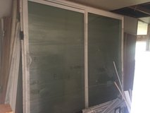 large glass double slide doors in Fort Polk, Louisiana