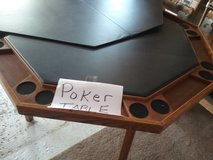 Poker table in Chicago, Illinois