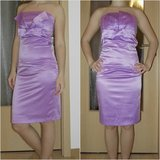 strapless lilac pencil dress US 4 in Ramstein, Germany