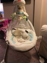 Fisher Price My Little Lamb Swing in Naperville, Illinois