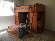 Twin Bunk Beds - W/ Desk in Camp Pendleton, California