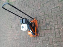 Wacker plate MBW GP1600 Compaction Plate, Honda GX120 4HP 4 stroke petrol engine in Lakenheath, UK