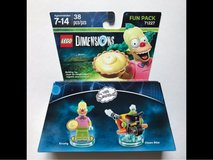 LEGO Dimensions The Simpsons Krusty The Clown Fun Pack 71227 in Cleveland, Texas