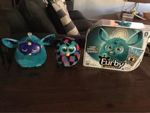Teal Furby connect and Furby boom in Las Vegas, Nevada