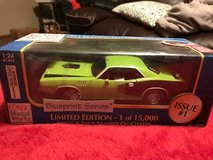1/24 scale 1971 Cuda diecast  1 of 15,000 in Kansas City, Missouri