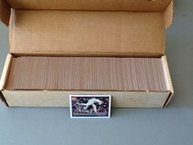 1991 TOPPS complete baseball card set. in Spring, Texas