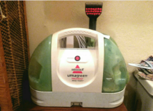 "Bissell Portable Carpet Cleaner ""Little Green Pro"" in Warner Robins, Georgia"