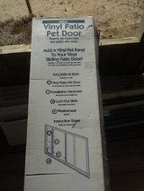 NIB Vinyl Patio Pet Door XL in Alamogordo, New Mexico