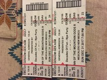 New Year's Eve inn of mt gods (2) tickets in Ruidoso, New Mexico