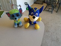 Chase Super Pup and Rocky Ty beanie boo**Stuffed animals in Manhattan, Kansas
