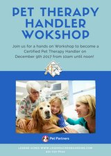 Pet Therapy Handler Workshop in Dover, Tennessee