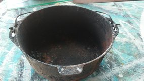 Cast Iron Pot with Pale in Beaumont, Texas