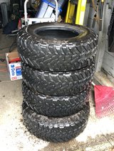 Toyo M/T LT285/70/R17 tires in Fort Lewis, Washington