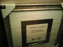 20X20 gold wood frame from meijer in Naperville, Illinois