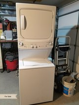 GE washer dryer stack stackable in Katy, Texas