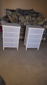 pair of 4 drawer side tables. in Chicago, Illinois