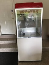 Commercial popcorn maker in Sugar Grove, Illinois