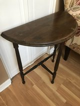 Antique Half Moon Table in Chicago, Illinois