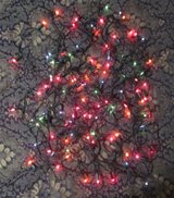220V Indoor Multi Color Christmas Lights Strand #4 in Ramstein, Germany