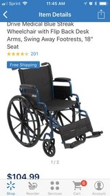 Blue Streak Wheelchair 2 in Elizabethtown, Kentucky