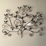 Tree candle decor for wall in Fort Leonard Wood, Missouri
