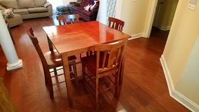 Tall Kitchen Table Set! in Warner Robins, Georgia