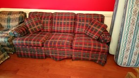Plaid Couch! in Warner Robins, Georgia