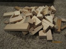 Large set of wooden blocks in Bolingbrook, Illinois