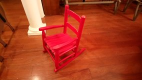 Small Red Rocking Chair! in Warner Robins, Georgia