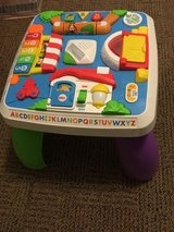 Laugh and learn activity table in Watertown, New York