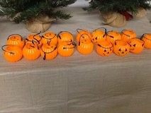Small Pumpkin Candy Holders w/ Handles in Bolingbrook, Illinois