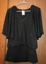 1 Black and 1 White Blouse Nice for the Holidays in Spring, Texas