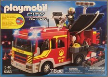PlayMobil Fire Engine *used once* in Shorewood, Illinois
