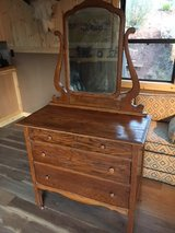 Antique Dresser with Mirror in Alamogordo, New Mexico