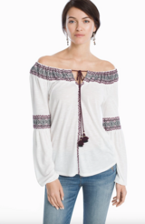 New w/tag WHBM on or off shoulder top sz. XS in Camp Lejeune, North Carolina