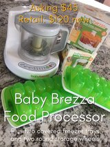 Baby Brezza Food Processor And Storage System in San Clemente, California