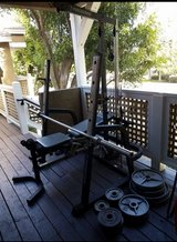 Bench  weights with a bar in Vista, California