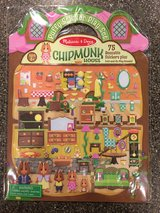 ~*Brand New - Melissa & Doug Girls Reusable / Repositionable Chipmunk Sticker Book*~ in Shorewood, Illinois