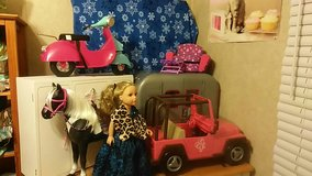 "18"" Doll and Accessories in Warner Robins, Georgia"