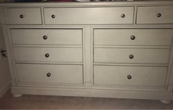 dresser 7 draws only used for about 10 months high end in Bolingbrook, Illinois
