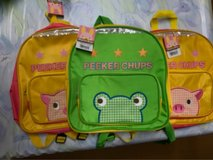 Cute backpack for kids in Okinawa, Japan