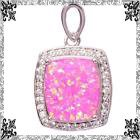 New - Pink Fire Opal Pendant (Includes a chain) in Alamogordo, New Mexico