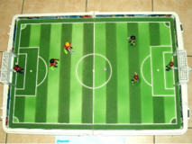 PLAYMOBIL - Large football arena in a portable case in Spangdahlem, Germany