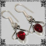 New - Garnet Earrings in Alamogordo, New Mexico
