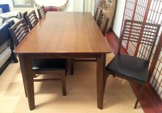 [Need to go! Make offer] 6-seat dining table set in Okinawa, Japan