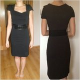 black pencil dress with belt in Ramstein, Germany
