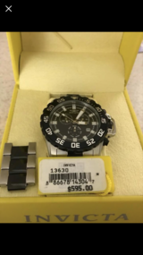 Invicta Men's watch brand new in Watertown, New York