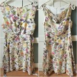 Orsay chiffon dress with flowers in Ramstein, Germany