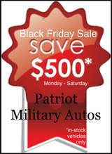 $500 OFF any vehicle in stock at PMA - ALL WEEK LONG! in Baumholder, GE