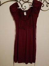 Wine Colored Dress in Leesville, Louisiana